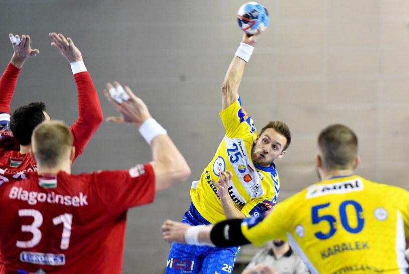 PGE Vive Kielce - Telekom Veszprem /PAP/Piotr Polak /PAP