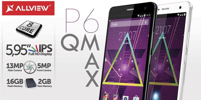 Phablet P6Qmax /materiały prasowe