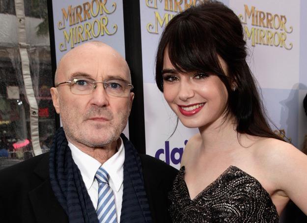 Phil Collins jest dumny z osiągnięć swojej córki Lily - fot. Todd Williamson /Getty Images/Flash Press Media