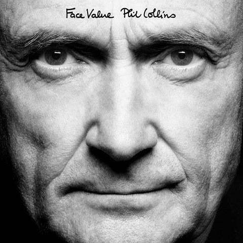 """Phil Collins na okładce reedycji """"Face Value"""" /"""