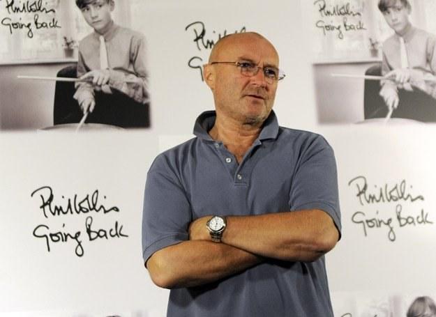 """Phil Collins na płycie """"Going Back"""" sięgnął po klasyki Motown /arch. AFP"""
