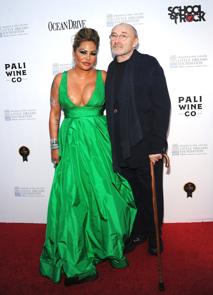 Phil Collins walczy z byłą żoną o dom na Florydzie /Desiree Navarro /Getty Images