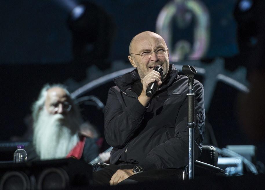 Phil Collins /Zoran Veselinovic /PAP/Photoshot