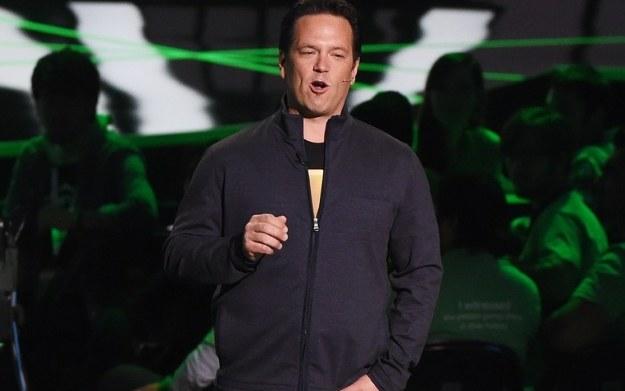Phil Spencer - zdjęcie z konferencji na targach E3 2015 /materiały prasowe