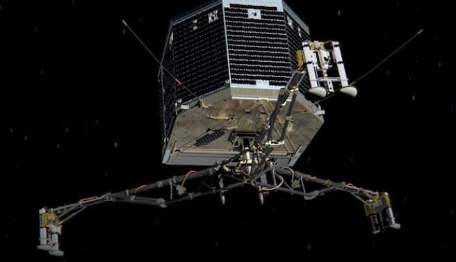 Philae przez 211 dni (od 15 listopada 2014) pozostawał w stanie hibernacji. /materiały prasowe