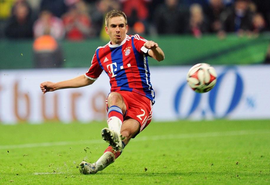 Philipp Lahm z Bayernu Monachium /Tobias Hase /PAP/EPA