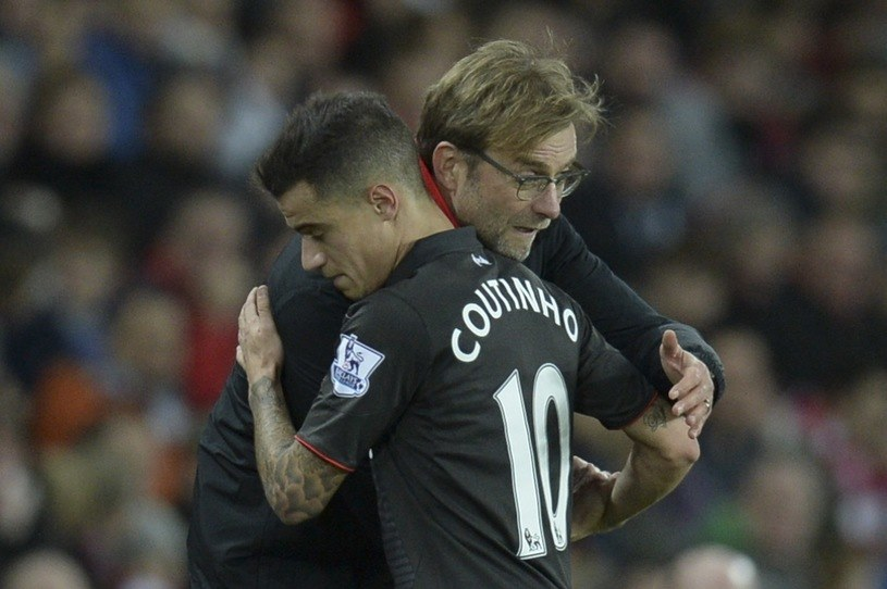 Philippe Couthino i Juergen Klopp /AFP