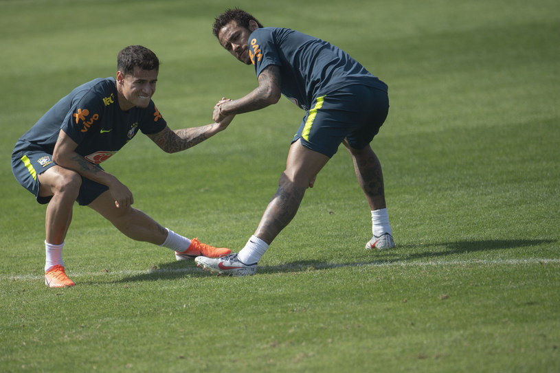 Philippe Coutinho i Neymar /AFP