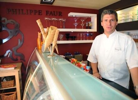 Philippe Faur w swojej restauracji /AFP