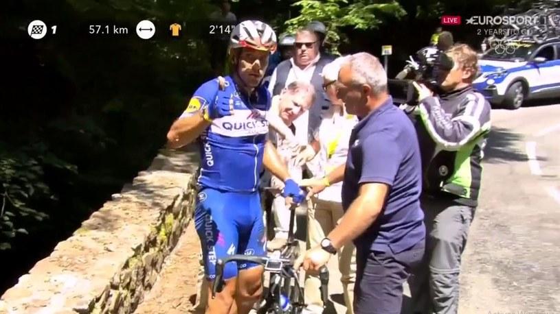 Philippe Gilbert na 16. etapie Tour de France /Eurosport