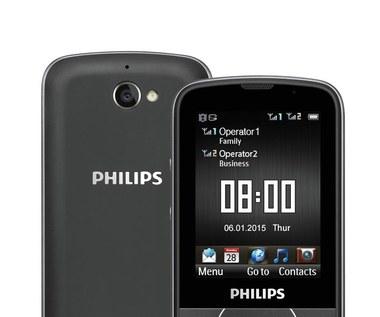Philips Xenium E560 - telefon pracujący nawet 73 dni bez ładowania