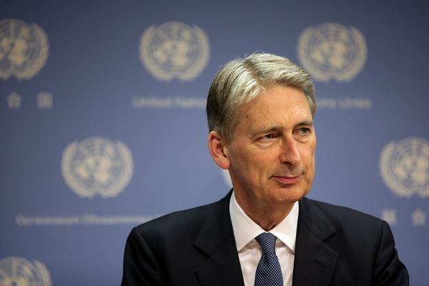 Phillip Hammond, minister skarbu W. Brytanii /AFP