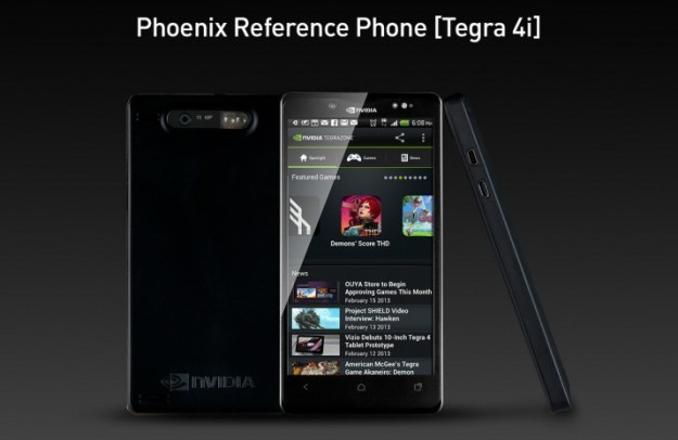 Phoenix - referencyjny smartfon, który wykorzystuje procesor Tegra 4i /materiały prasowe