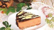 Pianka czekoladowa w polewie