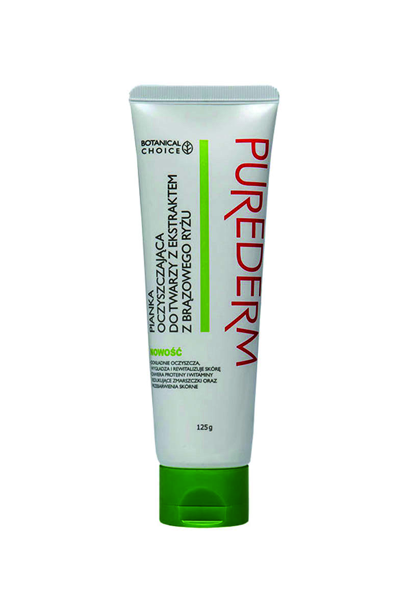 Pianka oczyszczająca Purederm /materiały prasowe