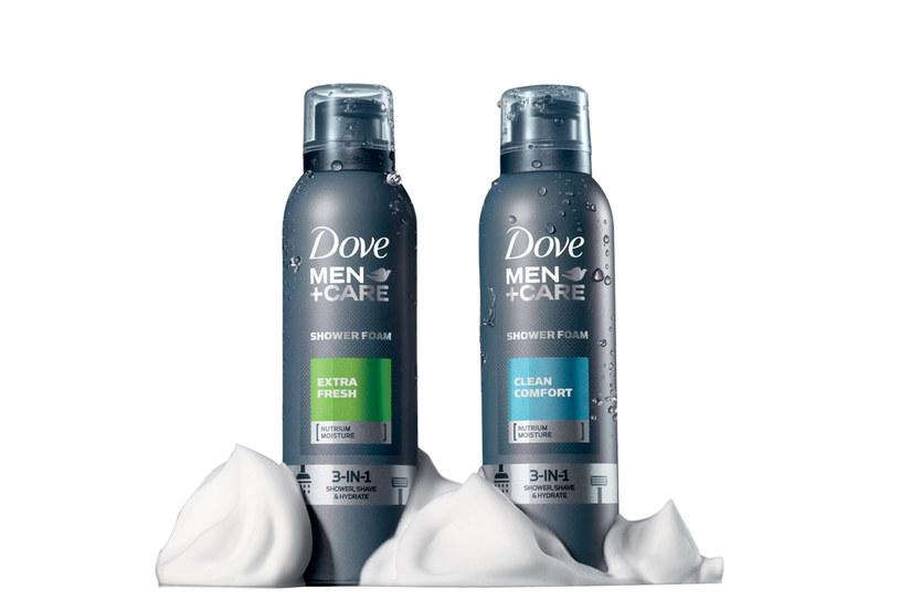 Pianki dla mężczyzn Dove Men+Care /materiały prasowe