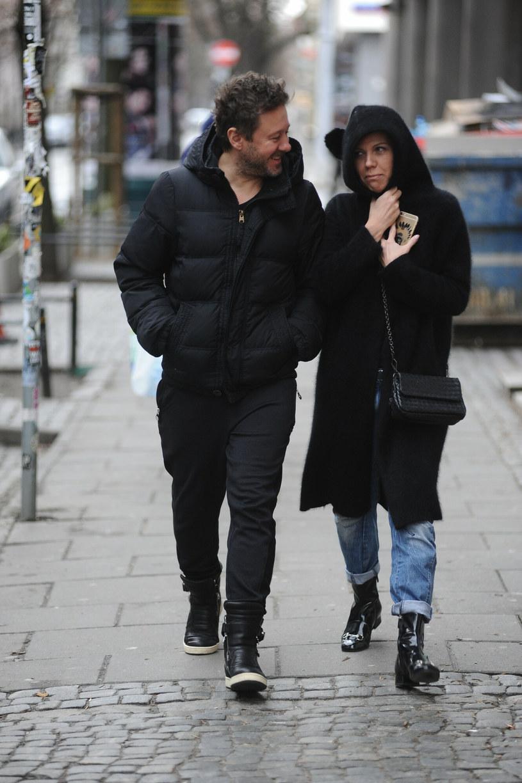 Piaseczny ze swoją agentką /VIPHOTO /East News