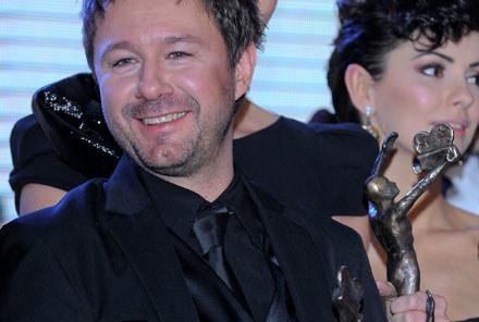 Piasek z Telekamerą Tele Tygodnia 2010! - fot. P.Przybyszewski /MWMedia