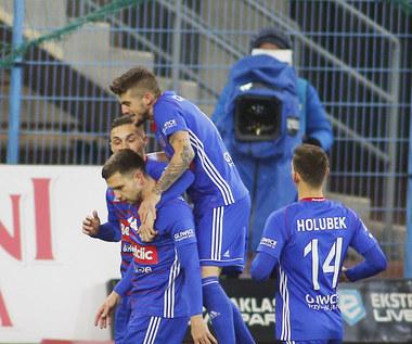 Piast Gliwice - Cracovia 2-0 w meczu 22. kolejki PKO Ekstraklasy