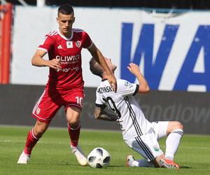 Piast Gliwice - Legia Warszawa 1-3 w meczu 4. kolejki Ekstraklasy