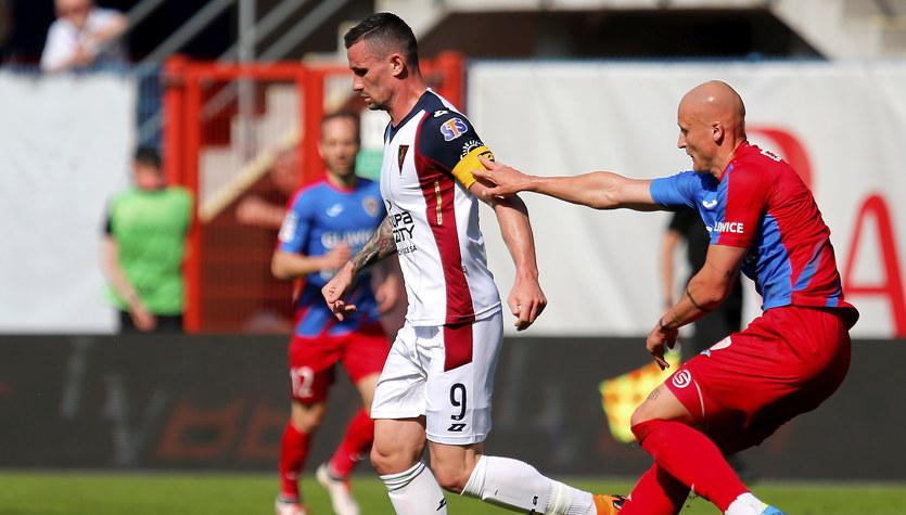 Piast Gliwice - Pogoń Szczecin 0-0 w meczu 32. kolejki Ekstraklasy