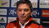 Piast Gliwice. Trener Waldemar Fornalik po meczu z Lechią Gdańsk. wideo