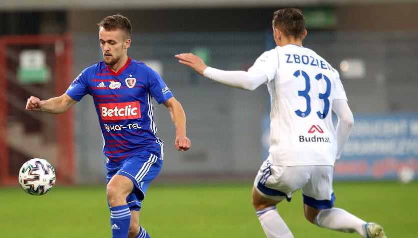 Piast Gliwice - Wisła Płock 2-2 w meczu 8. kolejki Ekstraklasy