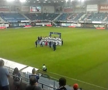 Piast. Piłkarze Piasta odebrali medale za 3. miejsce w sezonie 2019/20. Wideo