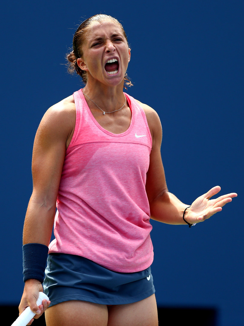 Piąta obecnie tenisistka świata Sara Errani /AFP
