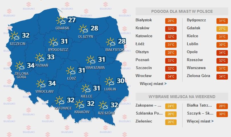 Piątek /INTERIA.PL