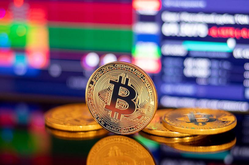Piątkowe notowania bitcoina w ciągu kilku godzin spadły z 45 tysięcy do 40 800 dolarów /123RF/PICSEL