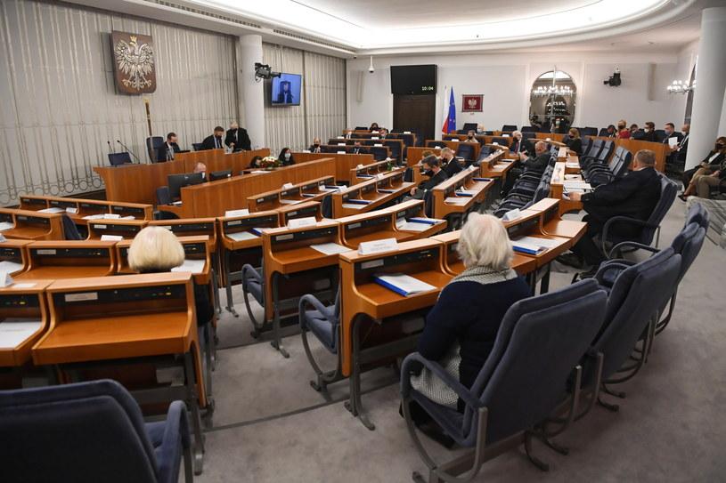 Piątkowe posiedzenie Senatu /Piotr Nowak /PAP
