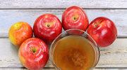 Picie octu jabłkowego - niebezpieczna moda