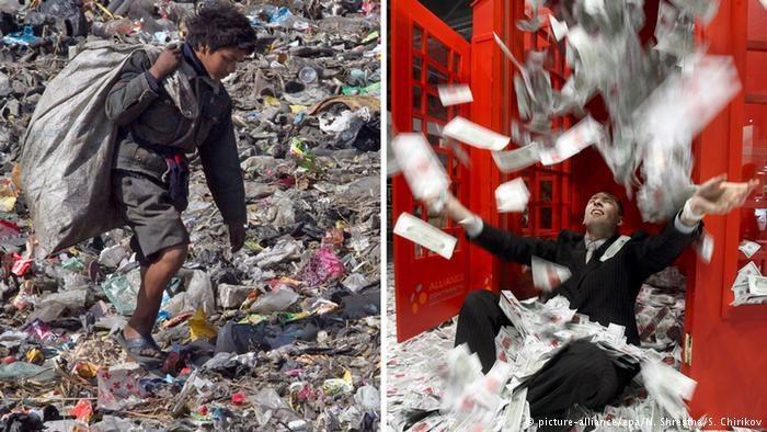 picture-alliance/epa/N. Shrestha/S. Chirikov /Deutsche Welle