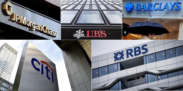 Pięć banków zapłaci w sumie 5,7 mld dol. kar /EPA