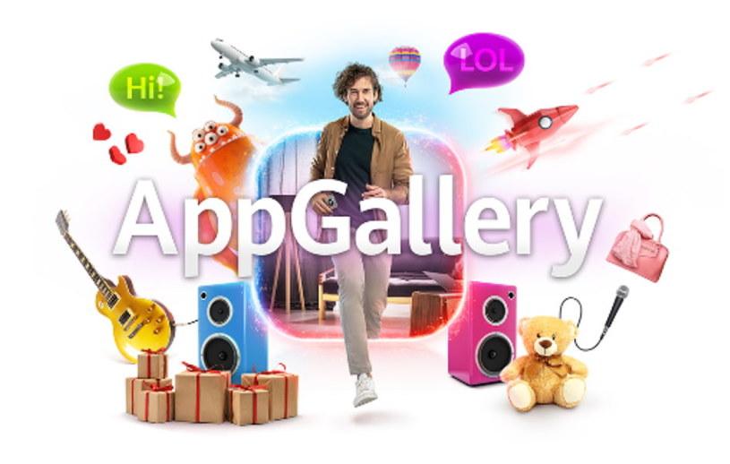 Pięć ciekawych aplikacji z AppGallery stało się bohaterami specjalnej kampanii /materiały promocyjne