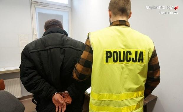 Pięć napadów na kobiety w Częstochowie. Jeden napastnik w areszcie, policja szuka kolejnych
