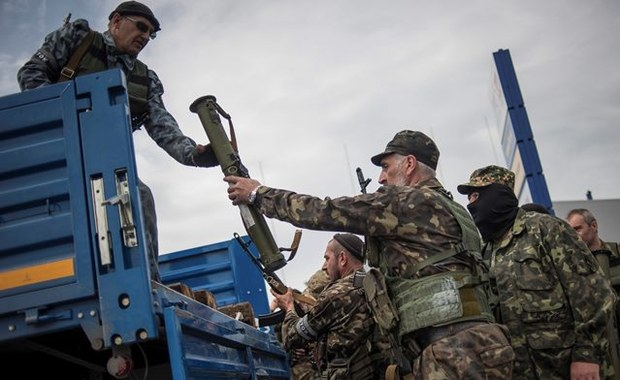 Pięć osób rannych po ataku na Ukrainie