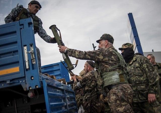 Pięć osób rannych po ataku w Makijiwce /ROMAN PILIPEY /PAP/EPA