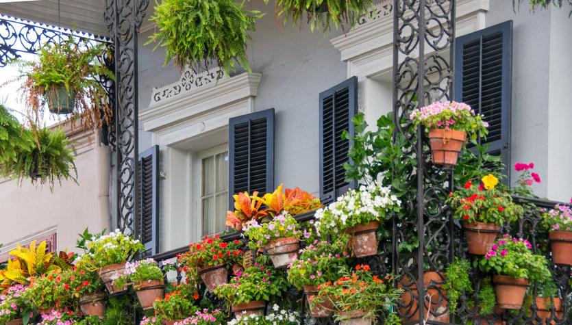 Pięć sposobów na balkon cały w kwiatach