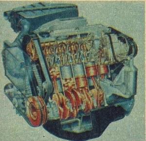 Pięciocylindrowy silnik Audi ma średnicę cylindra 81 mm i stosunkowo duży skok 95,5 mm. Dzięki turbodoładowaniu i przechładzaniu powietrza uzyskuje on moc 88 kW przy 4250 obr./min. /Audi
