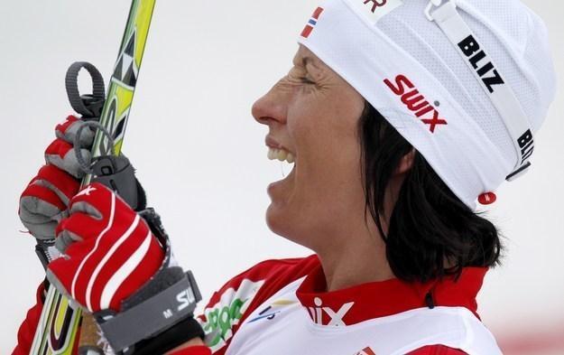 Pięciokrotna medalistka olimpijska z Vancouver Marit Bjoergen /AFP