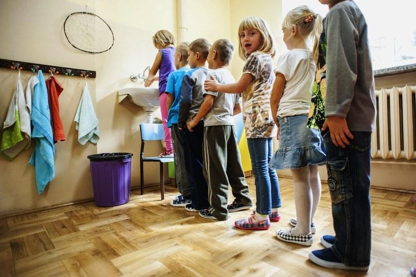Pięciolatki oraz sześciolatki w klasie zero /Jakub Wysocki /Reporter