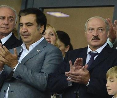 Pięciu prezydentów na stadionie w Kijowie. Wśród nich Łukaszenka