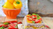 Pieczeń rzymska z warzywami