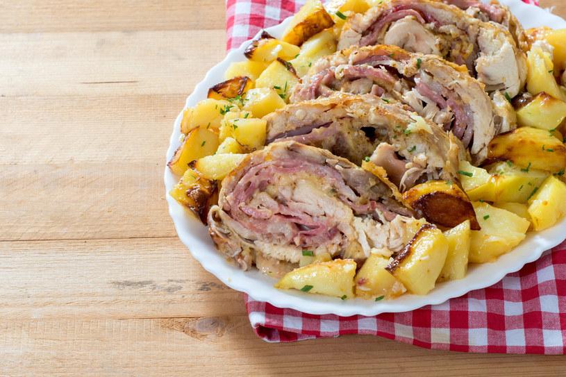 Pieczeń z ziemniakami /123RF/PICSEL