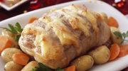 Pieczona cielęcina z serem żółtym