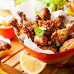 Pieczone pałki kurczaka