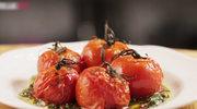 Pieczone pomidory w sosie chimichurri