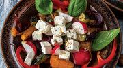 Pieczone warzywa z sosem tzatziki